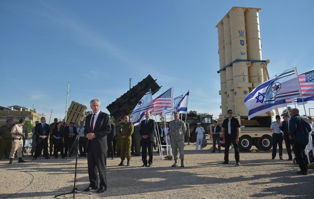 مناورات اسرائيلية أمريكية