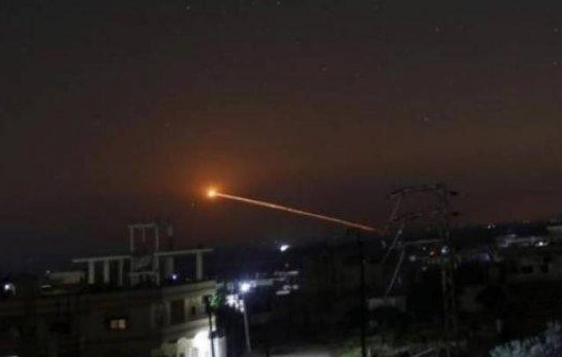 صاروخ فلسطيني.