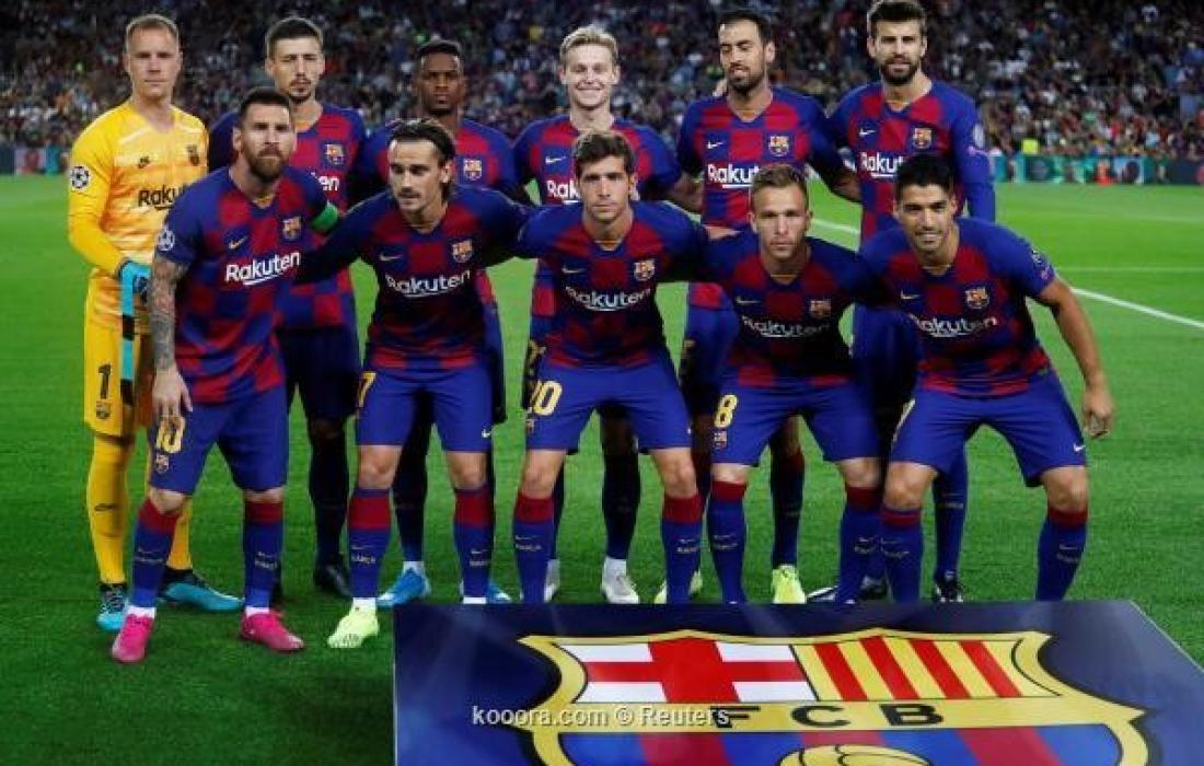 تشكيلة برشلونة المتوقعة أمام خيتافي اليوم في الدوري الإسباني
