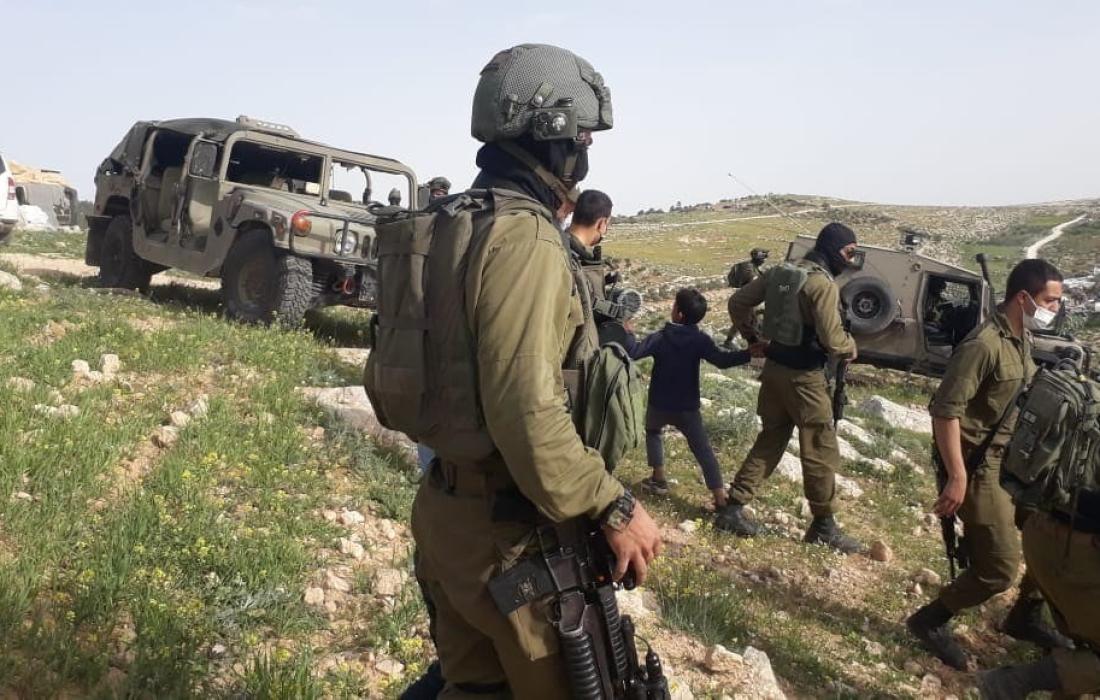 قوات الاحتلال تقتحم قرية بالأغوار الفلسطينية