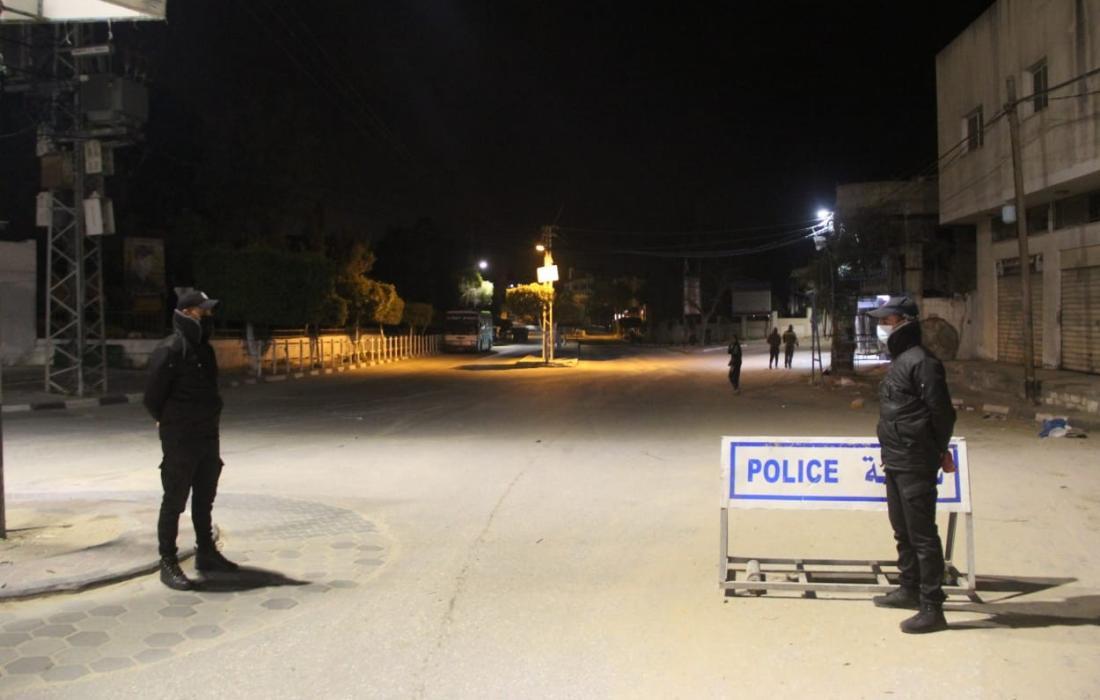 داخلية غزة تصدر مهام أجهزة الشرطة في متابعة مخالفي الحظر