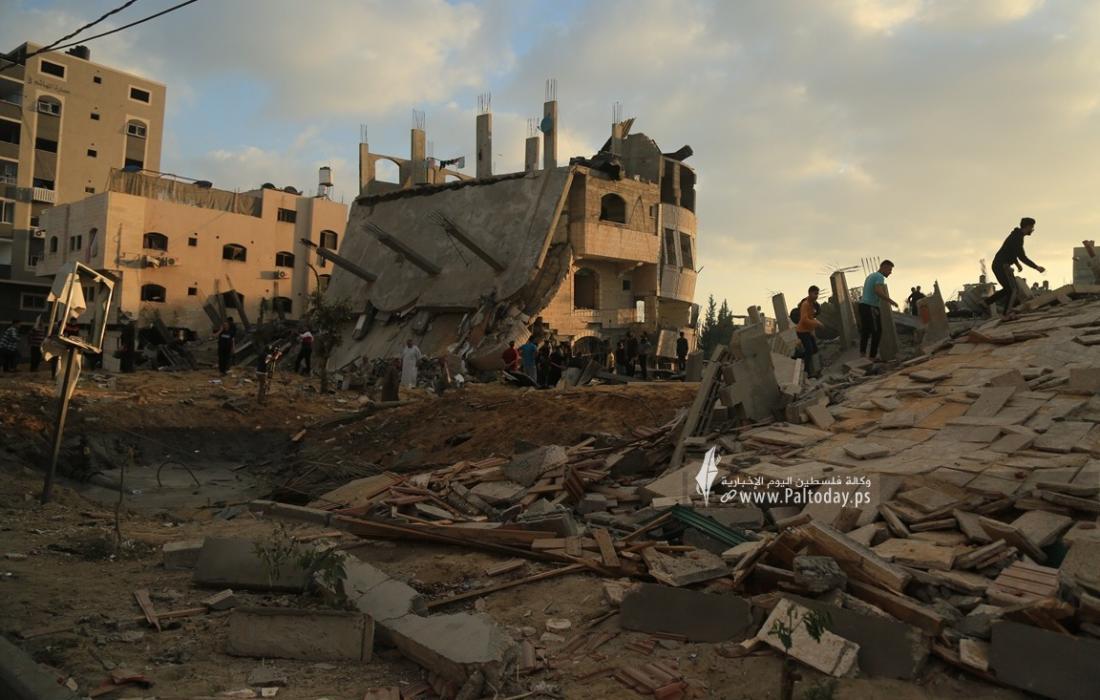 منازل المدمرة إثر القصف (26).JPG