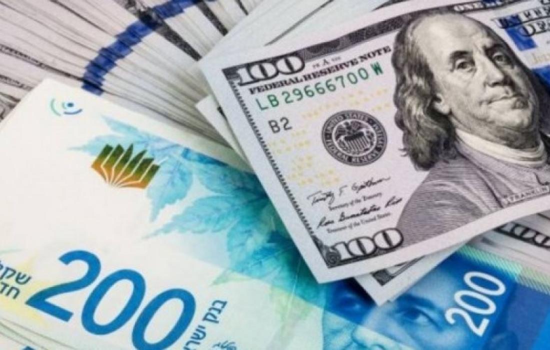 الشيقل مقابل الدولار