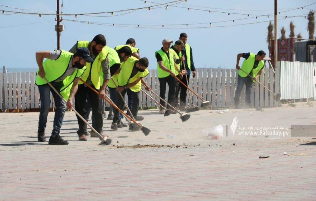 """الجهاد الإسلامي تدعو للمشاركة في حملة تنظيف منطقة """"سوق الزاوية"""""""