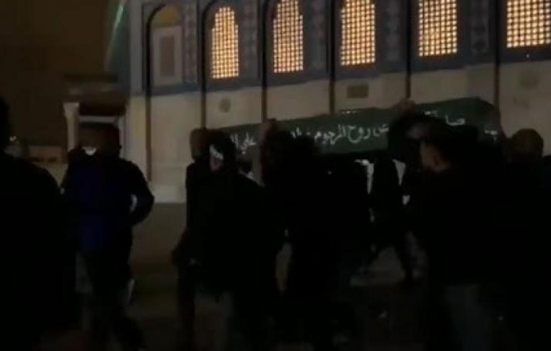 تشيع جثمان الشهيد عبده يوسف الخطيب التميمي