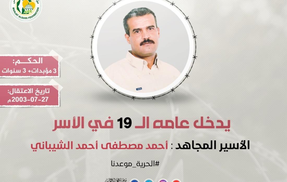 الأسير المجاهد أحمد الشيباني