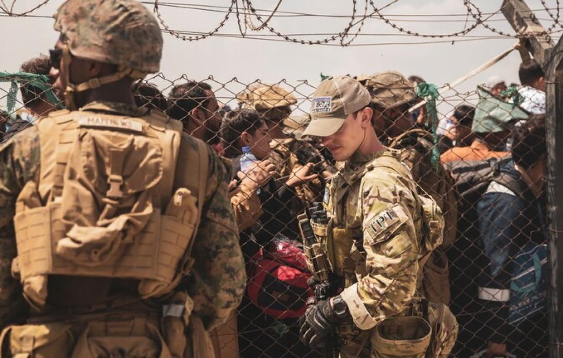 جنود امريكيين.
