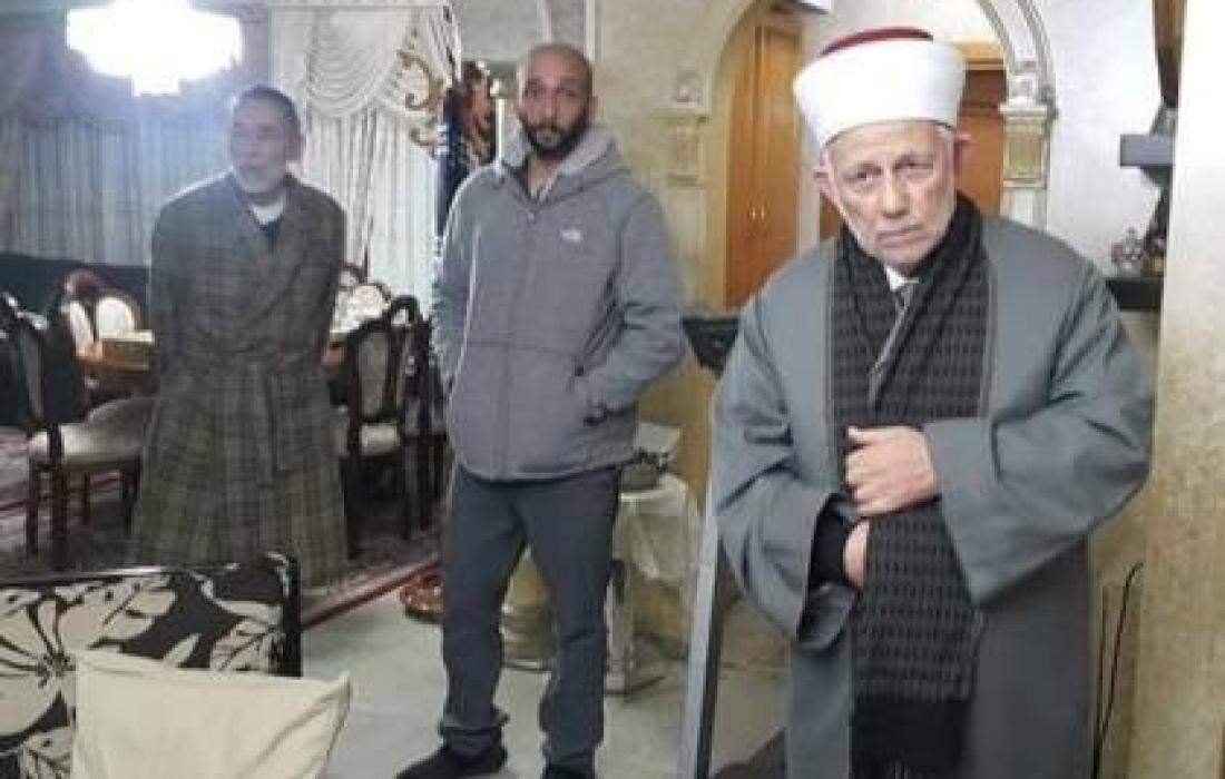 اعتقال الشيخ سهلب