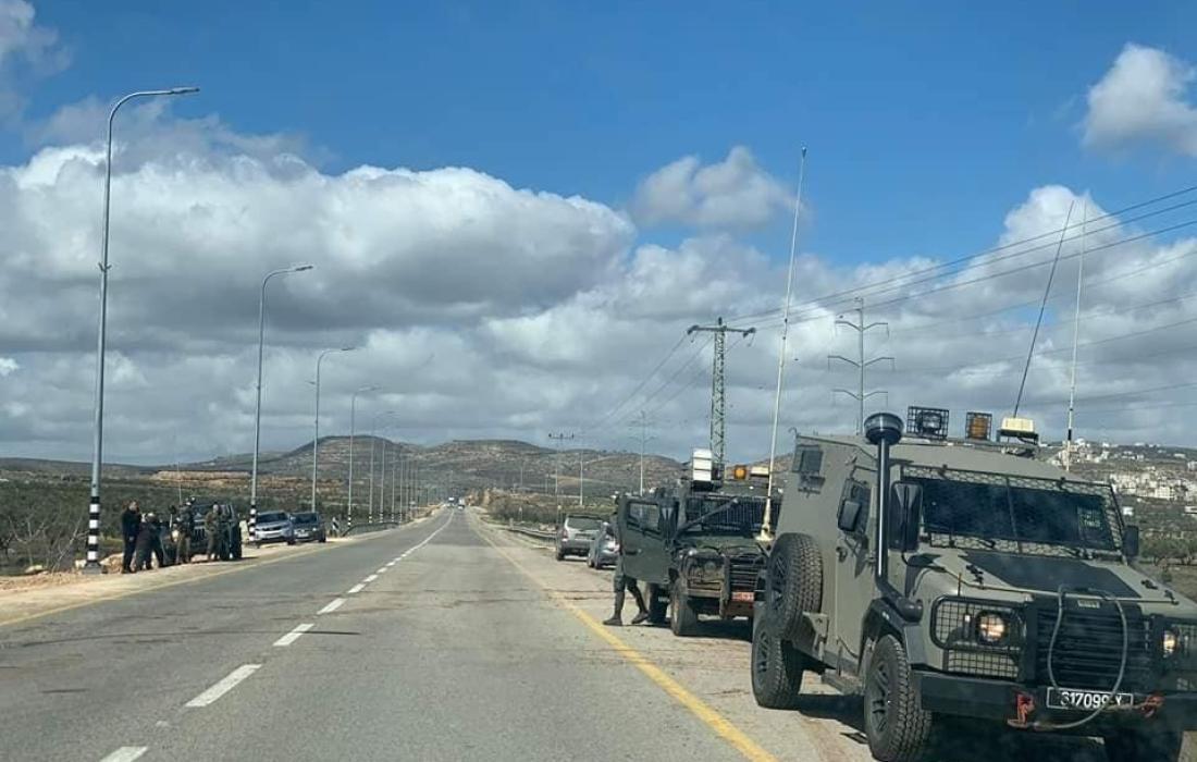 مواجهات بين الاحتلال والمواطنين في نابلس