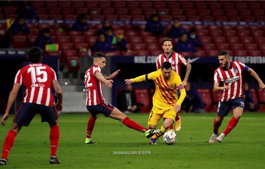 اتلتيكو مدريد و برشلونة