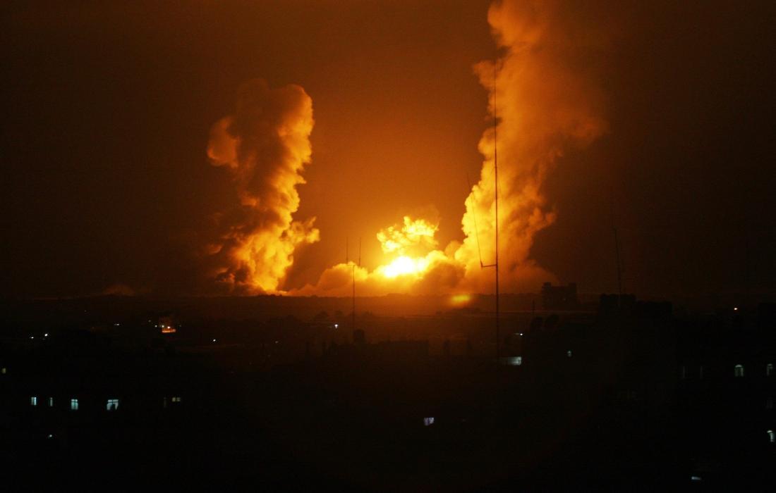 قصف اسرائيلي (ارشيف)