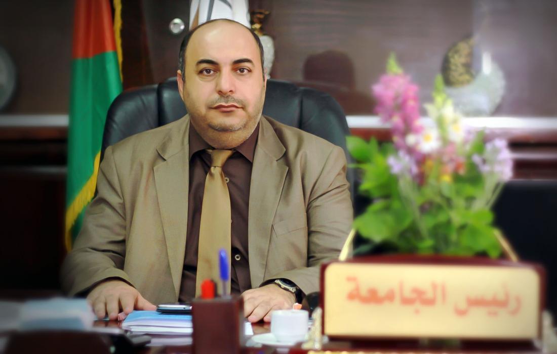 الدكتور عدنان الحجار رئيس جامعة الاسراء في غزة