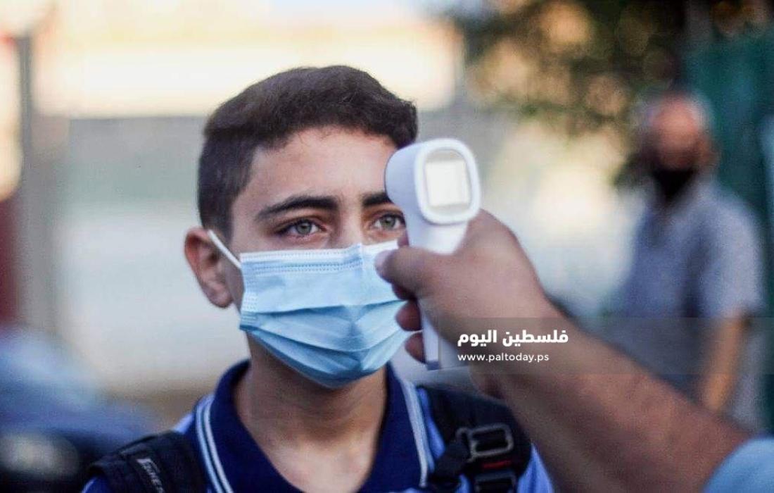 مدارس الحكومة بغزة تستأنف الدراسة لطلاب السابع حتى حادي عشر بدوام جزئي (9)