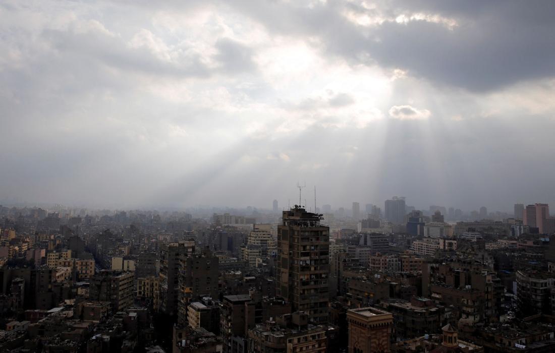 منخفض التنين في مصر