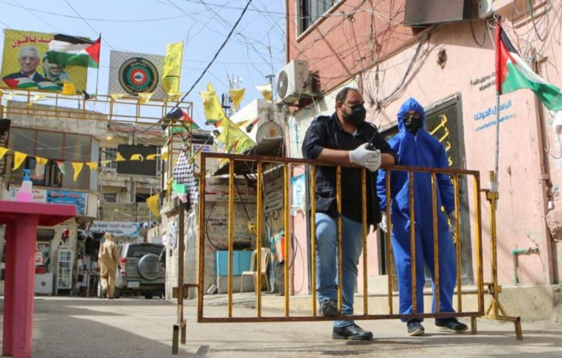 كورونا في مخيمات لبنان