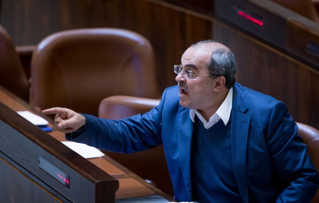 النائب العربي في الكنيست الاسرائيلي احمد الطيبي