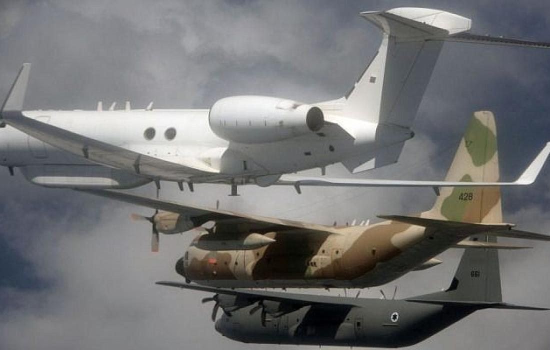 طائرات استطلاعية اسرائيلية