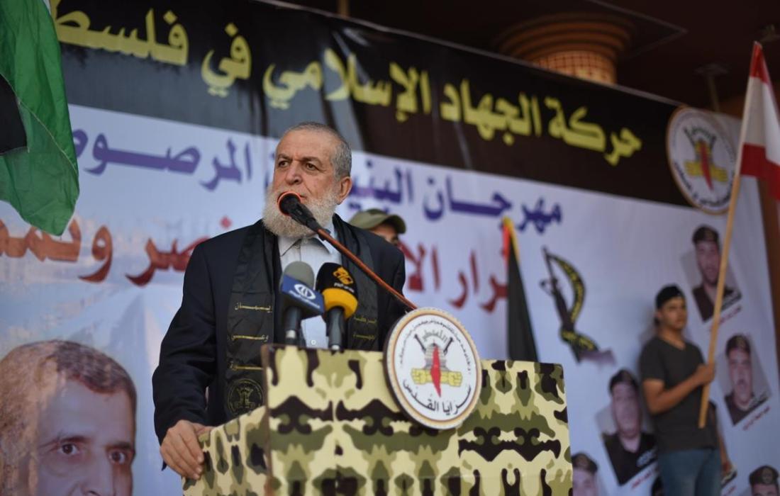 الشيخ نافذ عزام عضو المكتب السياسي لحركة الجهاد الإسلامي
