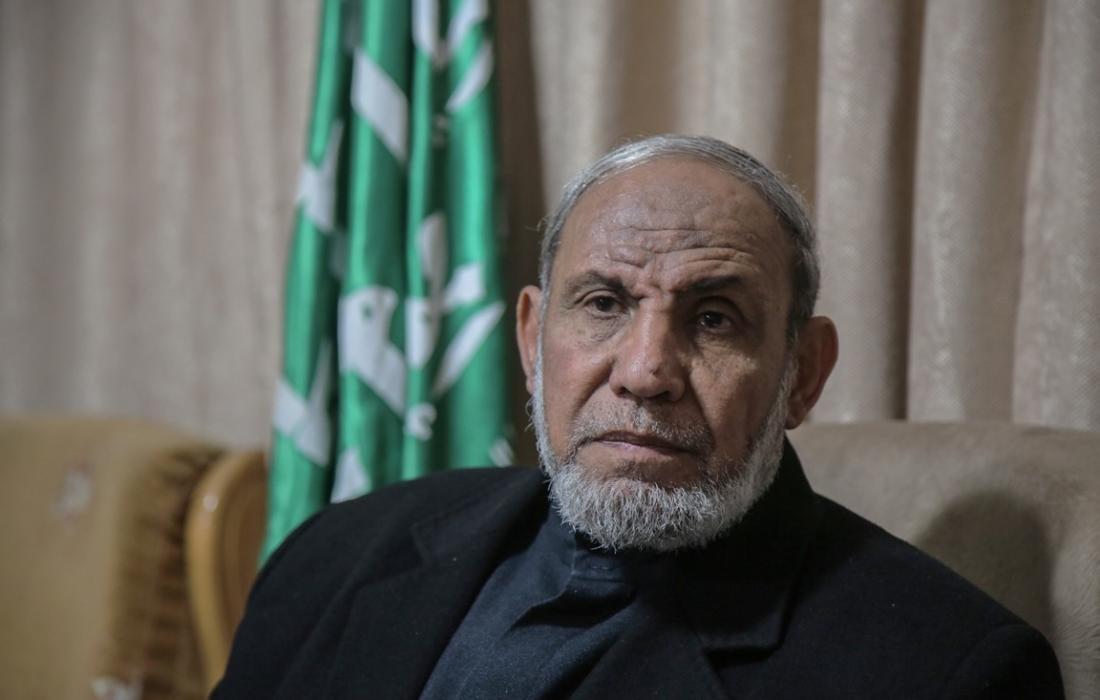 عضو المكتب السياسي لحركة المقاومة الإسلامية (حماس) د. محمود الزهار