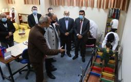 مؤسسة فلسطين المستقبل للطفولة تفتتح قسم العلاج الوظيفي