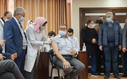 تطعيم لقاح فيروس كورونا في غزة.jpg