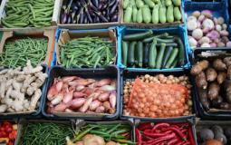 اسعار الخضروات والفواكه والدجاج اليوم السبت 20-2-2021 في غزة