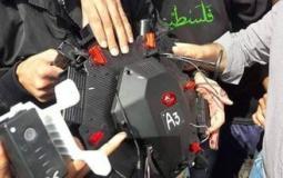 طائرة مسيرة للاحتلال بحوزة المقاومة.jpg