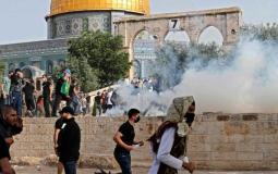 مواجهات عنيفة في المسجد الأقصى (3).jpg