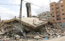 دمار العدوان على غزة