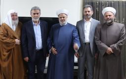 أمين عام حركة الجهاد الإسلامي في فلسطين القائد زياد النخالة
