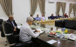 الفصائل الفلسطينية تجتمع في مكتب السنوار لبحث الرد على مماطلات الاحتلال