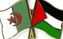 الجزائر و فلسطين