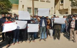 مزارعو غزة يتظاهرون ضد وزارة الزراعة