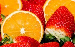 فراولة وحمضيات