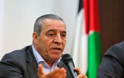 وزير الشؤون المدنية في الحكومة الفلسطينيةحسين الشيخ