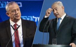 """""""نتنياهو"""" يحث """"غانتس"""" على عدم التوجه إلى انتخابات """"إسرائيلية"""" جديدة"""