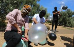 بالونات حارقة ومتفجرة تجاه المستوطنات (20)