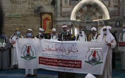 """دعاة فلسطين تطالب بالتحرك العاجل لوقف عدوان """"ماكرون"""" على الإسلام ونبيه"""