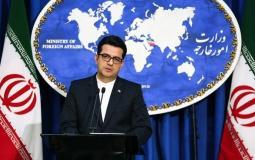 المتحدث باسم الخارجية الايراني عباس موسوي