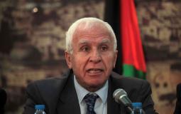 عضو اللجنتين التنفيذية لمنظمة التحرير والمركزية لحركة فتح عزام الأحمد