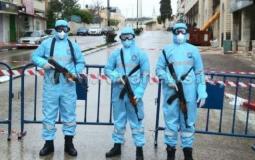 الشرطة الفلسطينية كورونا