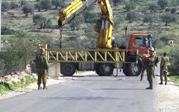 اغلاق - الاحتلال - بوابة حديدية