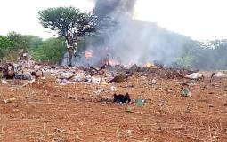 """تحطم طائرة محملة بمساعدات لمواجهة """"كورونا"""" في الصومال"""