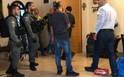فادي الهدمي اثناء اعتقاله من قبل قوات الاحتلال
