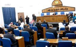 المجلس التشريعي غزة
