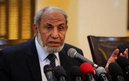 عضو المكتب السياسي لحركة حماس محمود الزهار.