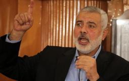 اسماعيل هنية رئيس المكتب السياسي لحركة حماس