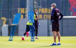 صور: عودة لاعبي برشلونة للتدريب بعد غياب بسبب كورونا