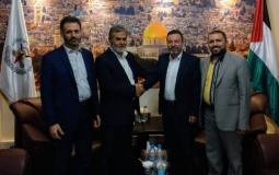 الحزب السوري القومي والامين العام لحركة الجهاد الاسلامي