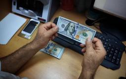 الدولار في فلسطين